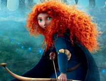 Brave movie - animation - Princess Merida