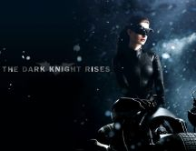 Catwoman - The dark knight rises - poster
