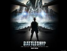 Battleship - movie 2012, poster wallpaper
