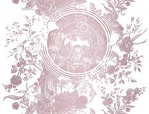 Pink wallpaper - Tree of life