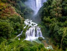 Cascata delle Marmore - view from above