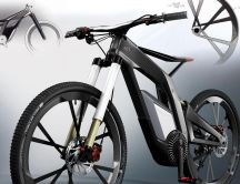 Audi bike - new concept HD wallpaper
