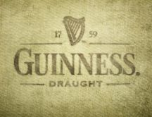 Advertising for beer - Guinness draught