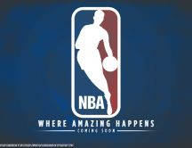 NBA - Where amazing happens - season 2012-2013 HD wallpaper