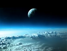 Awesome view from space - Terra HD wallpaper