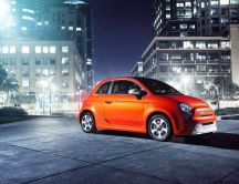 New car from Fiat in 2013 - Fiat 500E