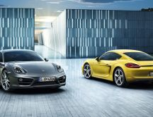 Porsche Cayman S - beautiful car in 2013