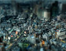 A whole city in miniature - built from Lego