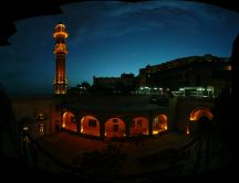 Panoramic image - Mardin in night