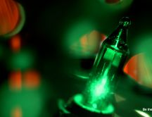 Light in a bottle of beer - be the outlier