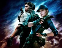 New game - Resident Evil 5 - Chris and Jill