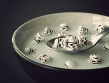 Stormtroopers cereal with milk - HD wallpaper