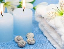 Relaxing bath set - spa