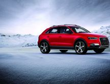 Beautiful Red car - Audi Q3
