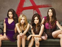 Female characters from serial Pretty Little Liars