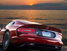 Furious red car - SRT Viper