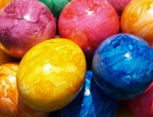 Painted eggs - Easter is coming