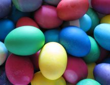 Eggs for Easter - different color