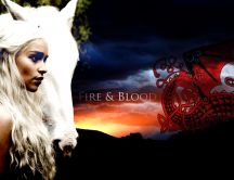 Beautiful Daenerys Targaryen - Fire and Blood