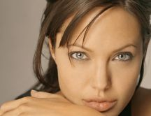 Natural actress - photo of Angelina Jolie