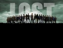 All characters from a wonderful movie - lost