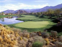 Golf course in La Quinta, California