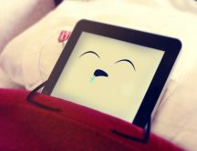 IPad is sleeping - HD funny wallpaper