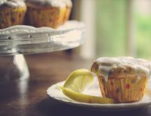 Muffins with lemon - something sweet