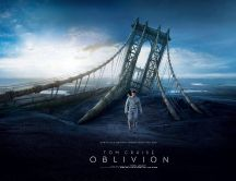Tom Cruise - the main character in Oblivion movie