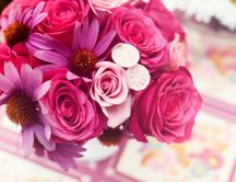 Pink bouquet - beautiful flowers