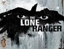 The lone ranger - poster drawing on the wall