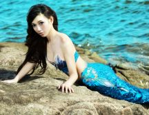 A beautiful mermaid to shoot - HD wallpaper