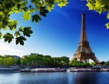 Summer holiday in Paris - Eiffel Tower