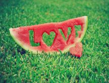 Summer love - delicious watermelon