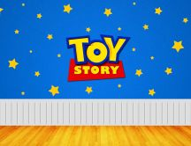 Funny wall for children - Toy story
