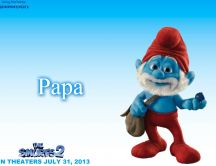 Papa smurf - the most intelligent smurf