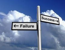 The path you choose in your life - success or failure