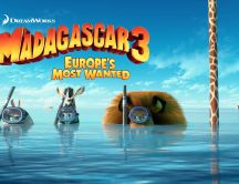 Animation movie - Europe's most wanted - Madagascar 3