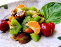 Roasted Fruit Salad - delicious summer food