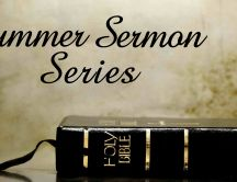A gook book - summer Sermon Series
