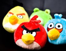 Funny fluffy animals - Angry Birds mascots