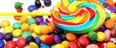 Colored gummy candies - macro HD wallpaper