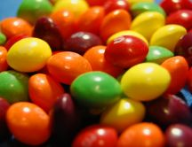 Colorful gummy candy - Skittles