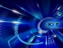 Blue design for Acer Aspire series