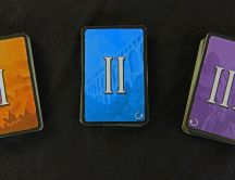 Three magic cards - HD wallpaper