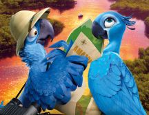 Lovely animation movie - Rio 2