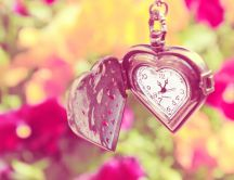 Lovely watch - romantic moments of spring