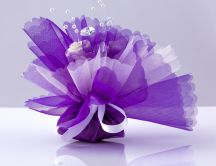 Abstract flower made by colour paper - HD wallpaper