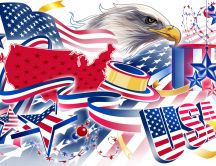 Happy Birthday America - 4 July