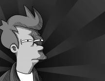 Fry - Not sure if.. - Cool Black and White HD Wallpaper